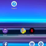 Skærmbillede fra Sony Xperia 1
