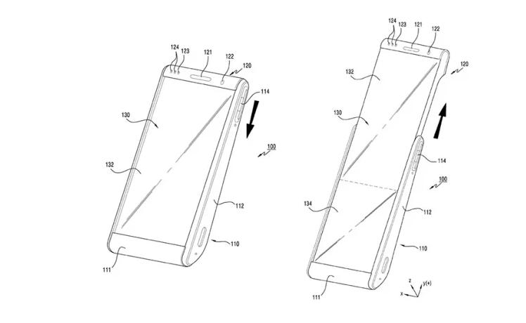 Patenttegninger af en Rollable (Kilde: Samsung / Gizmodo)