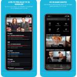 Skærmbilleder fra TV 2 Play applikationen