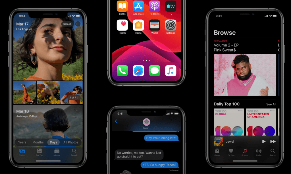 iOS 13 er klar i første public betaversion (Foto: Apple)