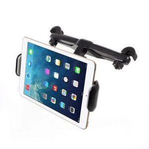 "Universal Justerbar Nakkestøtte Tabletholder med 360 graders positionering 7-15"" (Kilde: Tabletcovers.dk)"