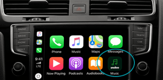 YouSee Musik med Apple CarPlay (Foto: YouSee)