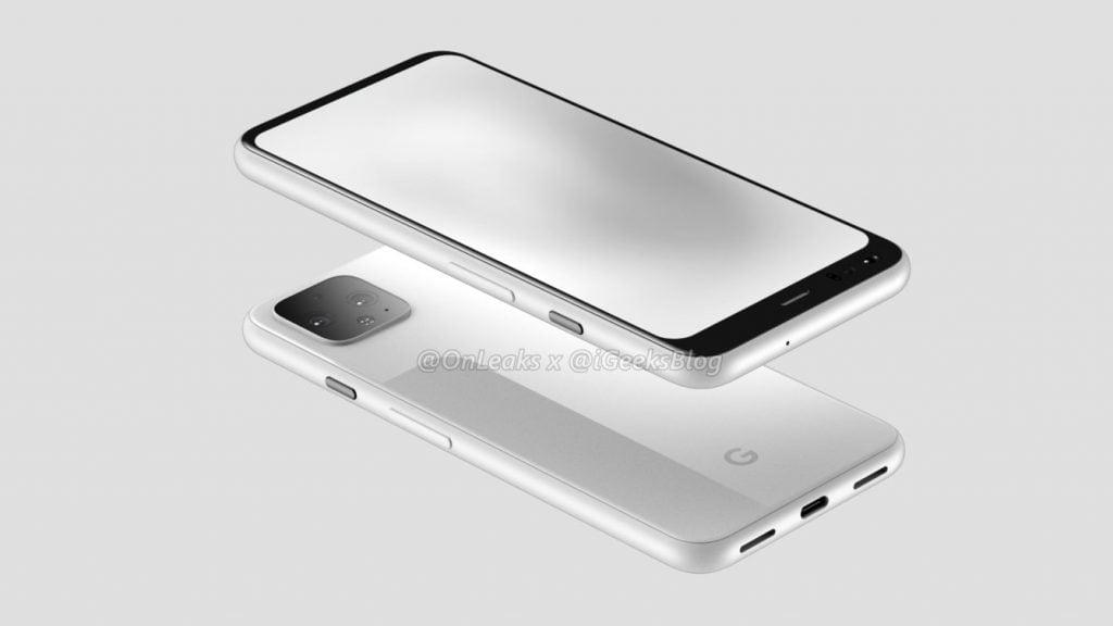 Læk af Google Pixel 4 (iGeeksBlog)