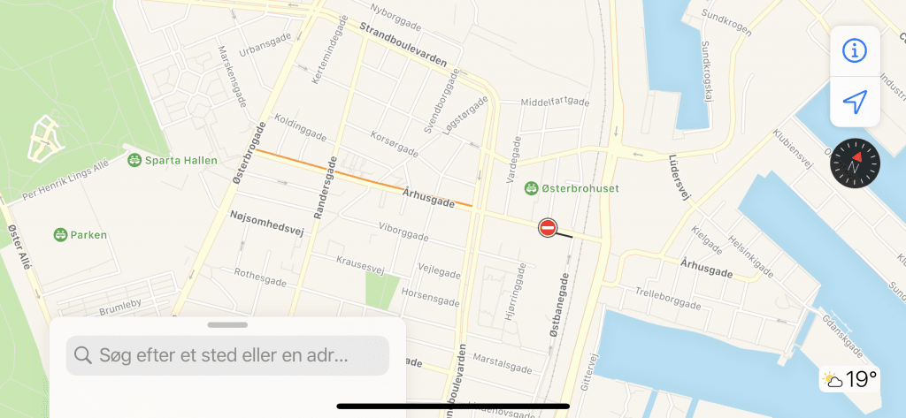 Trafikmelding i iOS 13 (Foto: MereMobil)
