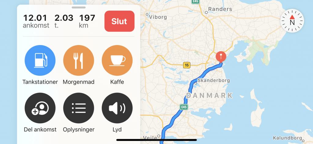 Deling af lokation i iOS 13 (Foto: MereMobil)