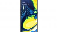 Samsung sender deres seneste smartphone-model, Galaxy A80, i butikkerne nu. Telefonen har salgsstart mandag.