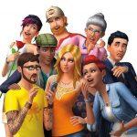 Den gamle forside i The Sims 4 (Foto: EA)