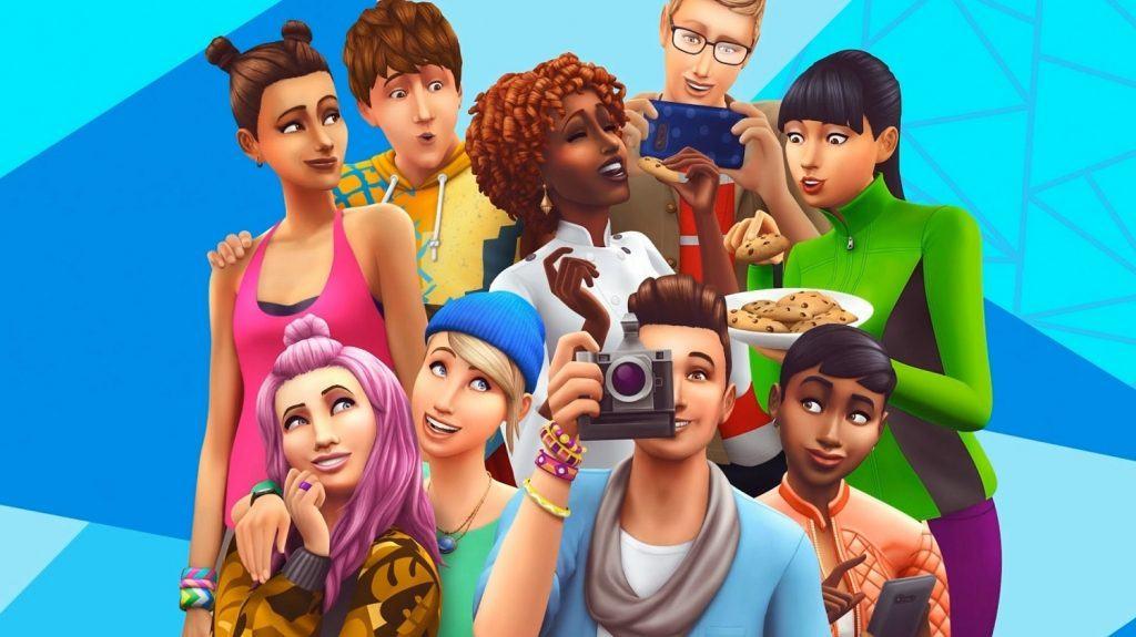 Den nye forside i The Sims 4 (Foto: EA)