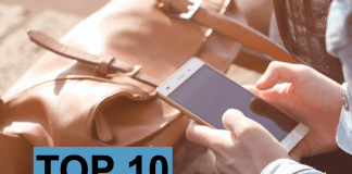 Hitliste top-10 mobilsalg