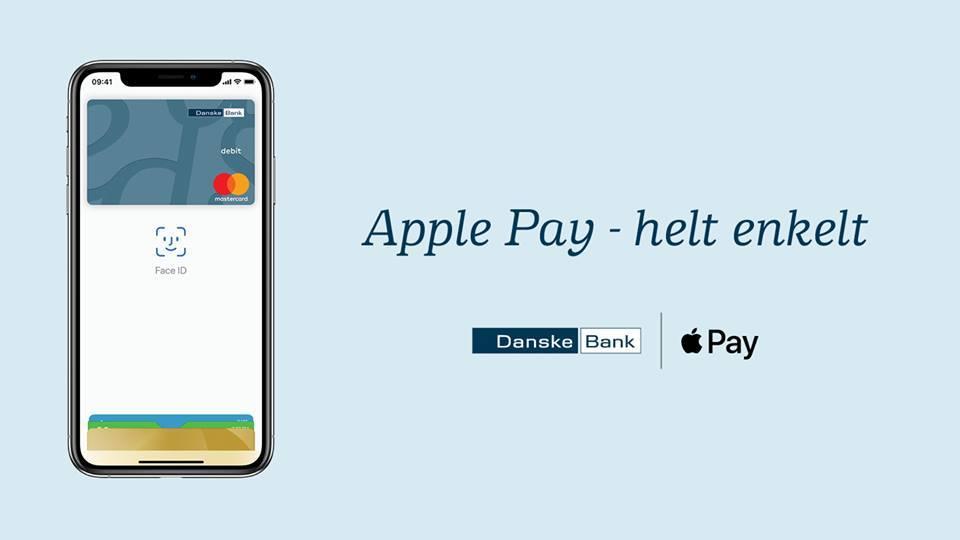 Danske Bank endelig klar med Apple Pay (Kilde: Danske Bank Facebook)