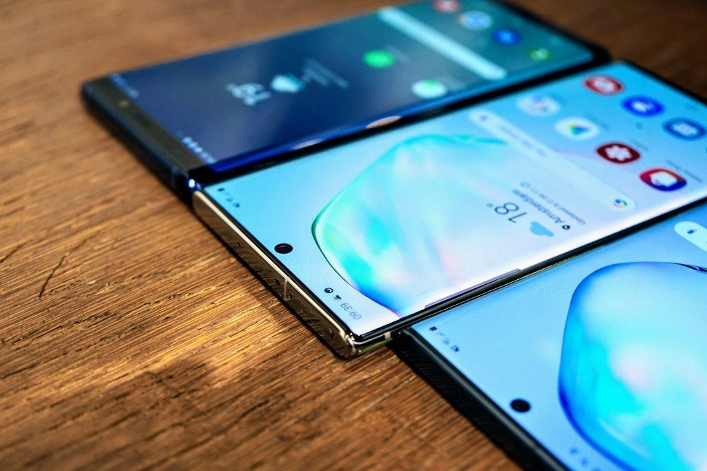 Samsung Galaxy Note 10, Galaxy Note 10+ og Galxy Note 9