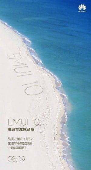 Teaser for EMUI 10 (KIlde: GSMArena.com)