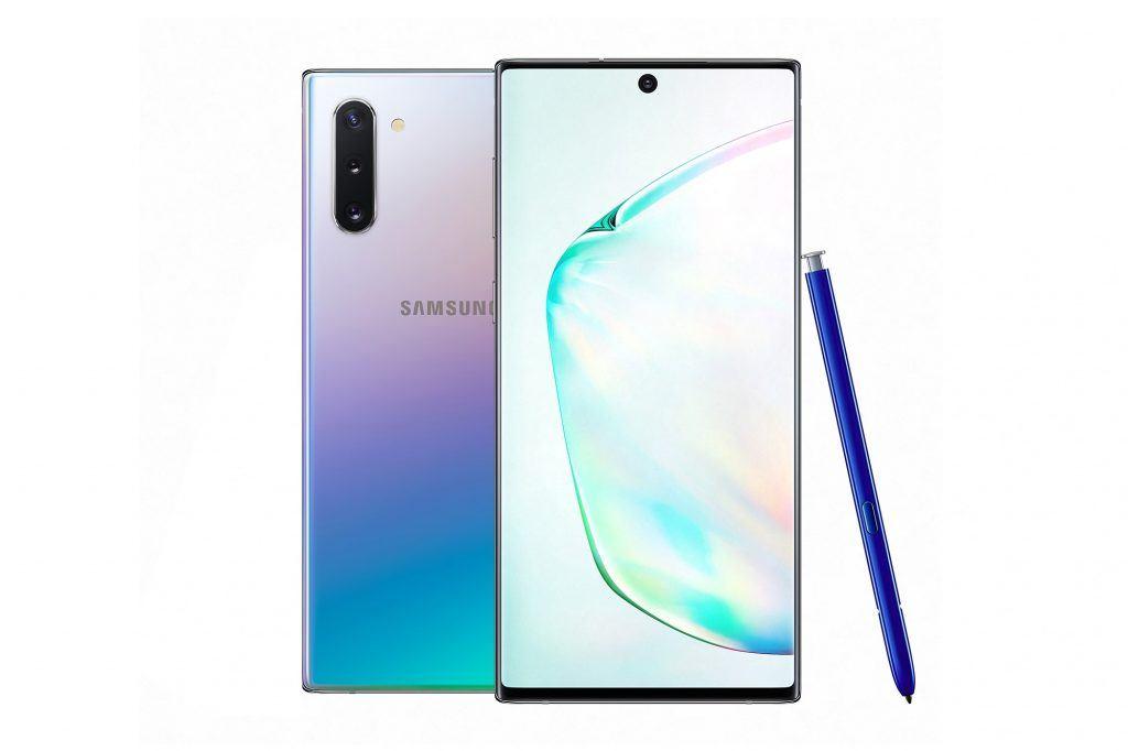 Samsung Galaxy Note 10 og Galaxy Note 10+