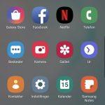 Skærmbillede, Samsung Galaxy Note10+