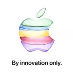 Invitationen til Apples event tirsdag den 10. september 2019