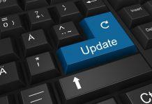 Opdater, Update, tastatur