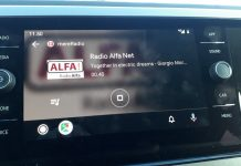 mereRadio på Android Auto (Foto: MereMobil.dk)
