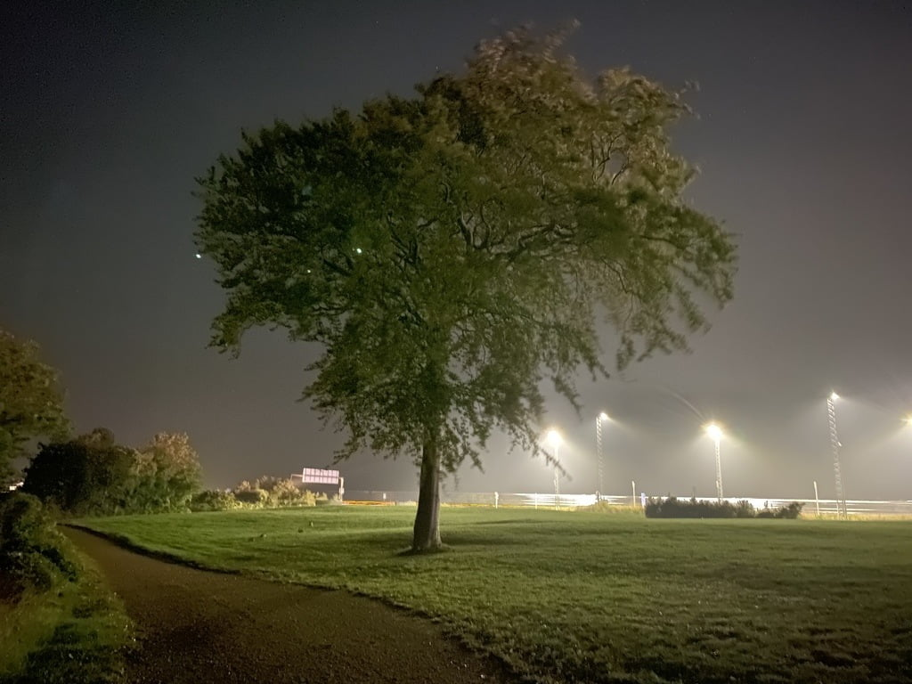 iPhone 11 Pro Max I night-mode over 30 sekunder (Foto: MereMobil.dk)