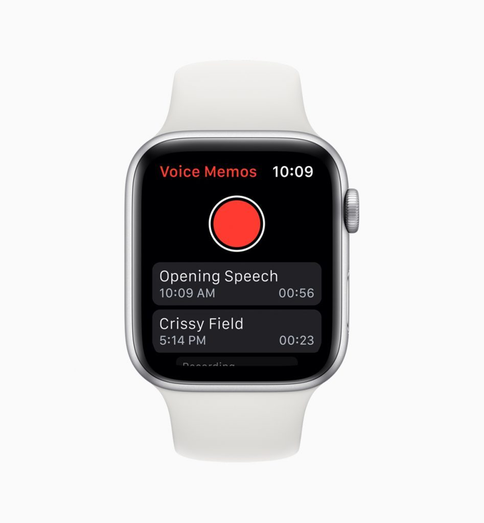 Memoer i watchOS 6 (Foto: Apple)