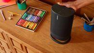Bluetooth og Wi-Fi giver musik på farten såvel som i hjemmet. Her er Sonos første Bluetooth-højttaler Sonos Move.