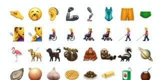 Nye emojis i iOS 13.2 (Foto: Emojipedia)