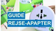 GUIDE: Hvilken strøm- og rejseadapter er nødvendig på rejsen til f.eks. USA, Storbritannien, Italien og Spanien? Sådan lader du telefonen op på rejsen.