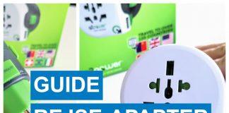 Guide rejseadapter til rejsen
