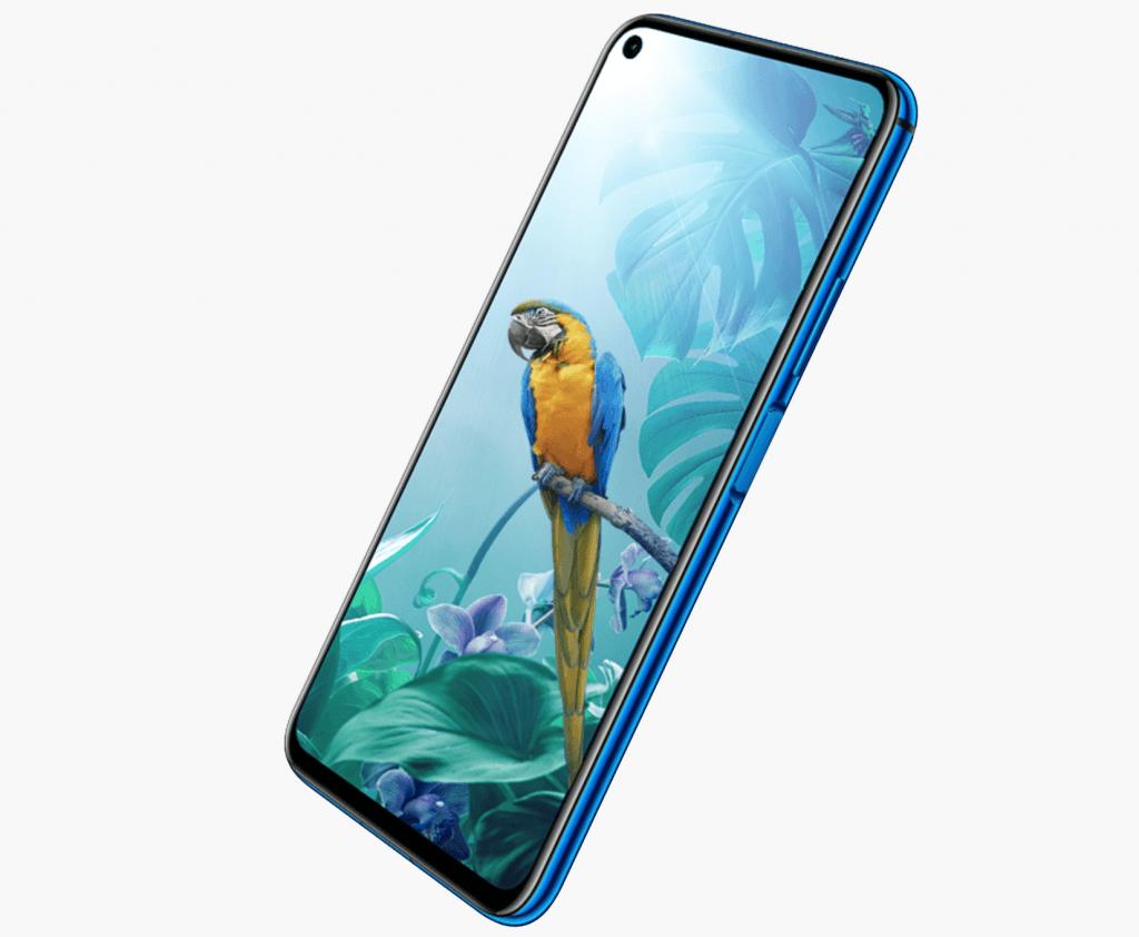 Huawei Nova 5T i blå