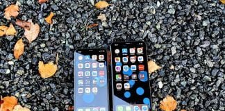 iPhone 11 Pro og iPhone Xs Max
