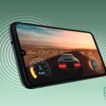 Moto G8 Plus med Dolby