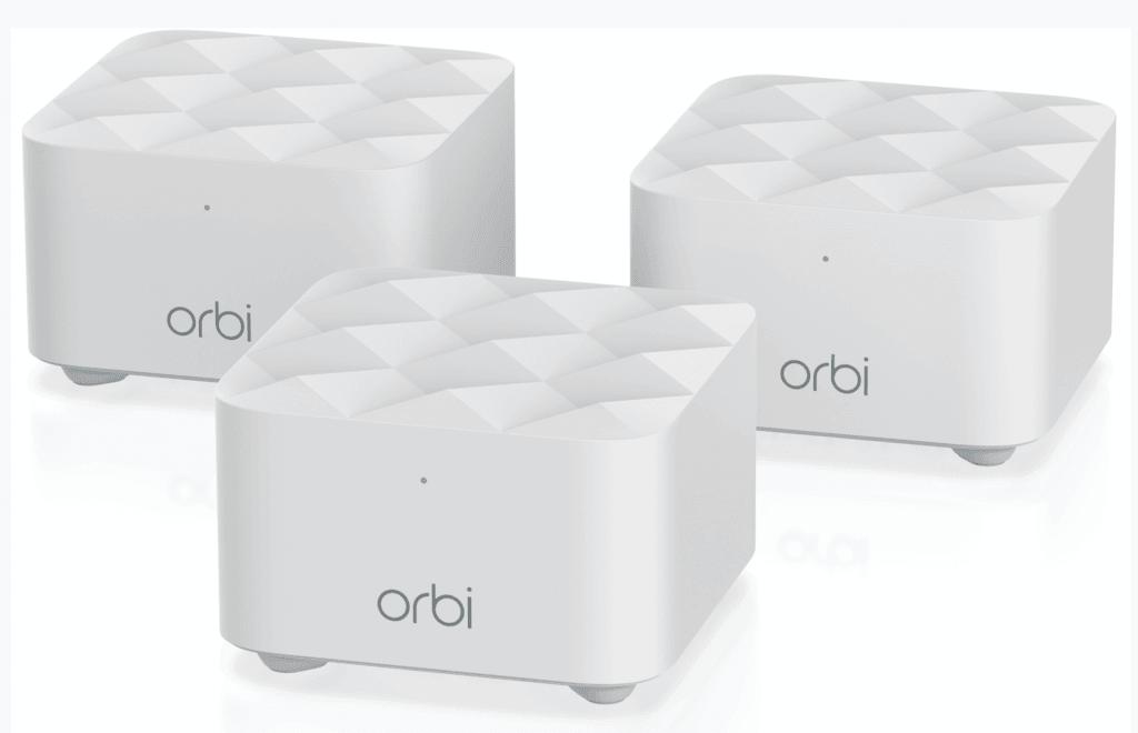 Pakke med tre enheder, Orbi WiFi System