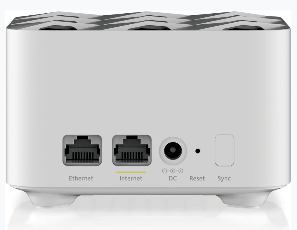 Bagsiden af Orbi WiFi System