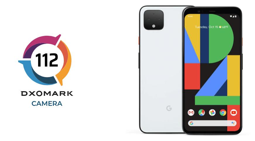 Google Pixel 4 har fået 112 point i testen hos DxOMark (Kilde: DxOMark)