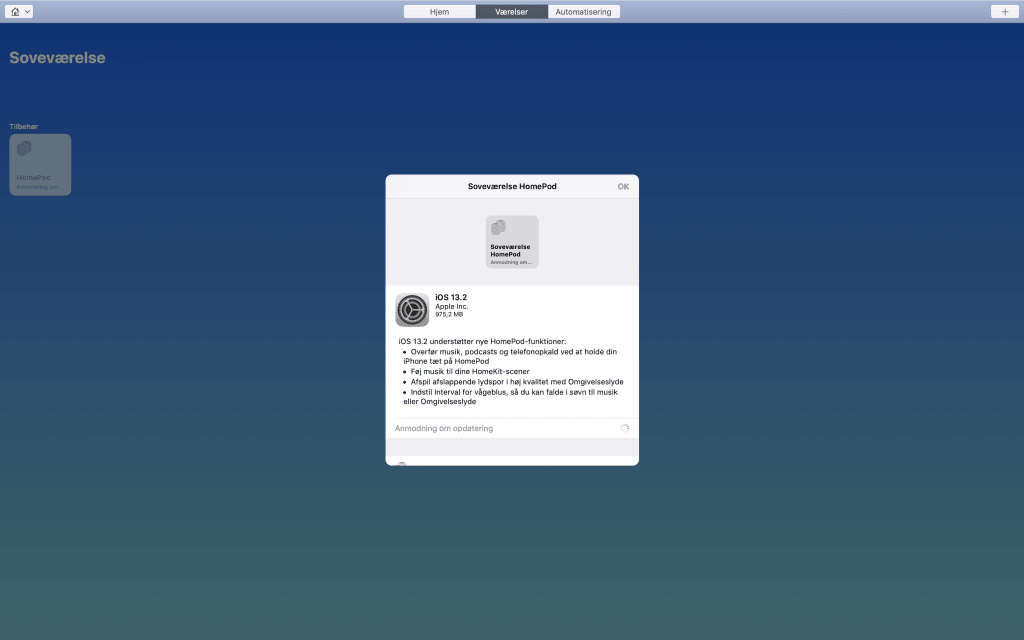 iOS 13.2 på HomePod (Foto: MereMobil)
