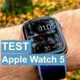 Apple Watch Series 5 test