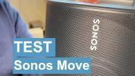 TEST: Du kan tage Sonos Move på nakken og afspille via Bluetooth eller AirPlay. Hvad med lyden? Hvordan er kvaliteten? Lyt til min test af Sonos Move.