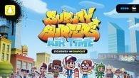 """Nu kommer Subway Surfers-universet med """"Subway Surfers Airtime"""" eksklusivt på Snap Games, der er SnapChats spiltjeneste. Du kan spille med nu."""