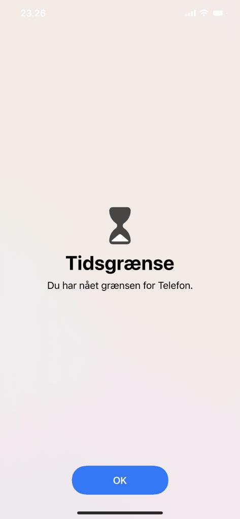 Kommunikationsgrænser i iOS 13.3 beta (Foto: MereMobil.dk)