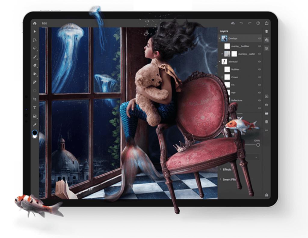 Photoshop på iPad