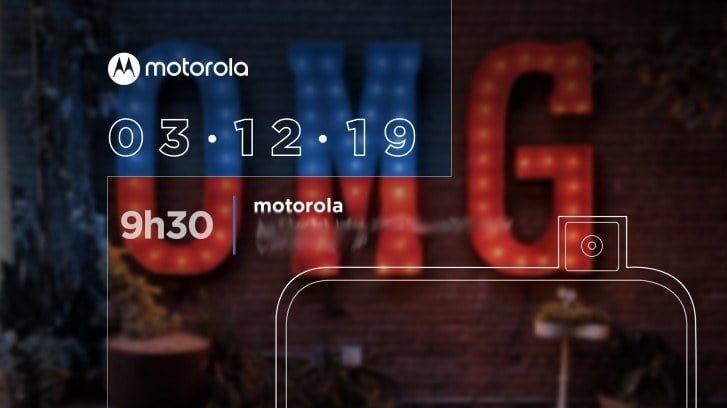 Motorola teaser for event i Brasilien den 3. december (Kilde: GSMArena.com)
