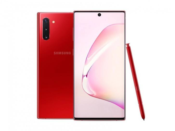 Samsung Galaxy Note10 i Aura Red (Foto: Samsung)