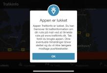 Trafikinfo på mobilen (Foto: MereMobil.dk)