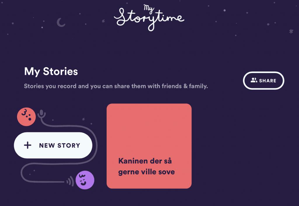 En historie på My Storytime