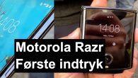VIDEO: Hvordan er Motorola Razr? Jeg har haft den innovative klaptelefon i hænderne, der byder på en fantastisk flot foldbar skærm samt masser af nostalgi.