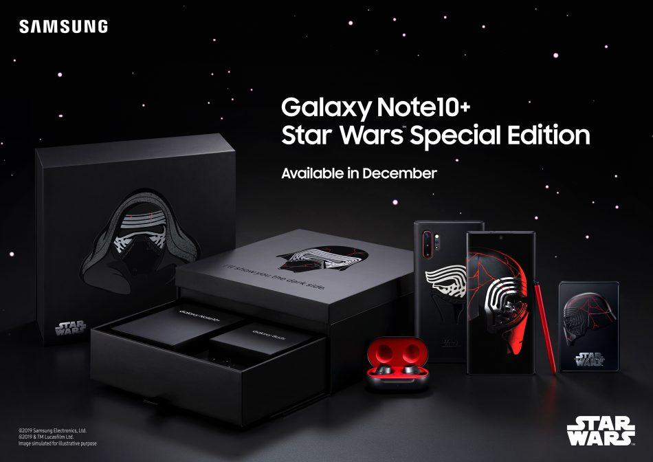 Samsung Galaxy Note 10 + i en særlig Star Wars Edition (Foto: Samsung)