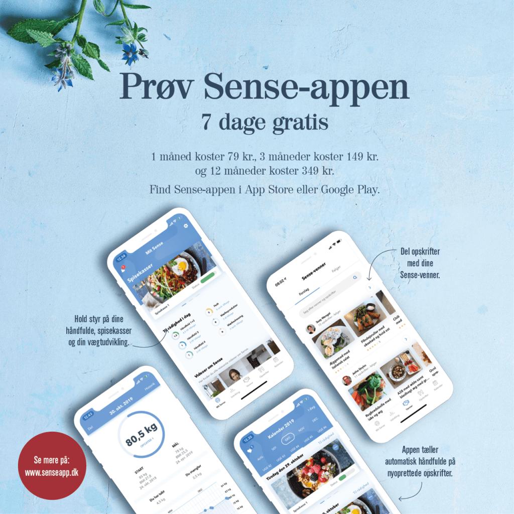 Sense-appen (Kilde: Sense)