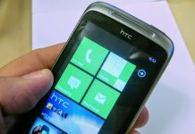HTC WIndows telefon 2009