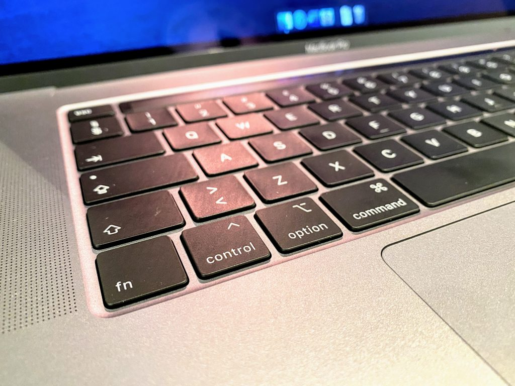 Tastatur MacBook Pro 16-tommer