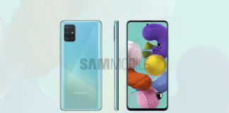 Lækkede billeder af Samsung Galaxy A51 (Kilde: SamMobile)