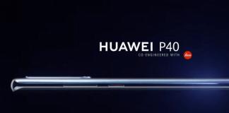 Billede af den kommende Huawei P40 (Kilde: GSMArena.com)